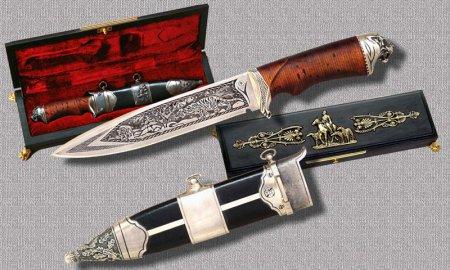 Иллюстрированный атлас лучших ножей мира