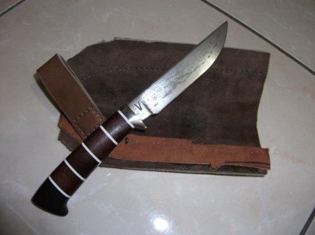 Нож своими руками гарда
